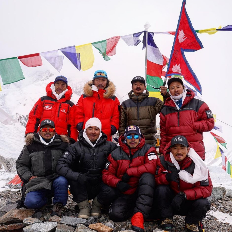 Nepali team winter k2 submit